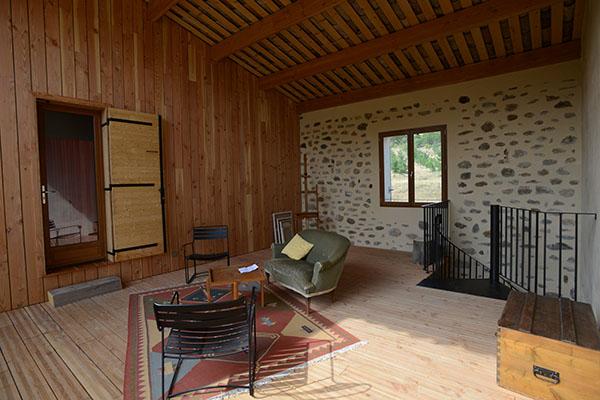 architecte, Mison, terrasse en bois