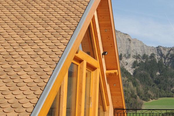 Architecture: Façade en ossature bois