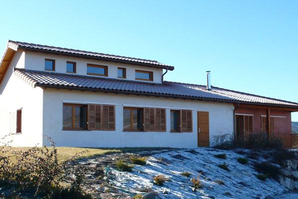 architecte 04, 13: conception de maison neuve de haute qualité environnementale bioclimatique
