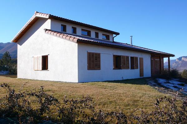 architecture 05: fenêtres sur mesure de haute performance énergétique, maison bioclimatique