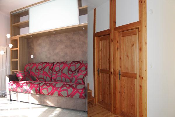 Design: création et réalisation de mobilier, d'aménagement intérieur, Briançon, Grenoble